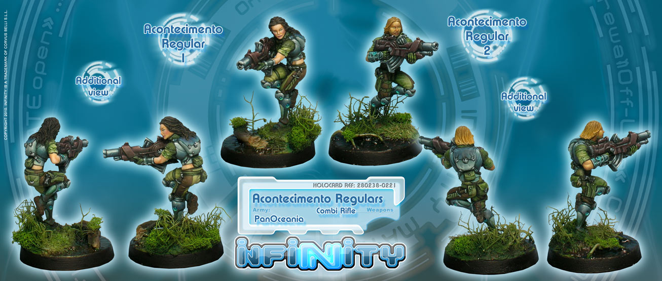 INF238 Acontecimento Regulars (Combi Rifle, Combi Rifle + Light