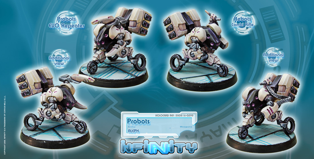 INF816 Probots (EVO Repeater, Combi Rifle)