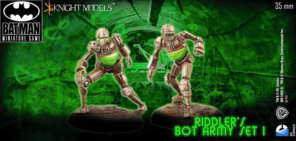 The Riddler Bot Army Set 1 (Arkham Knight)