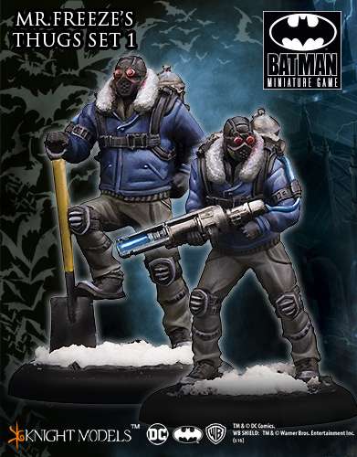 Mr. Freeze's Thugs Set I