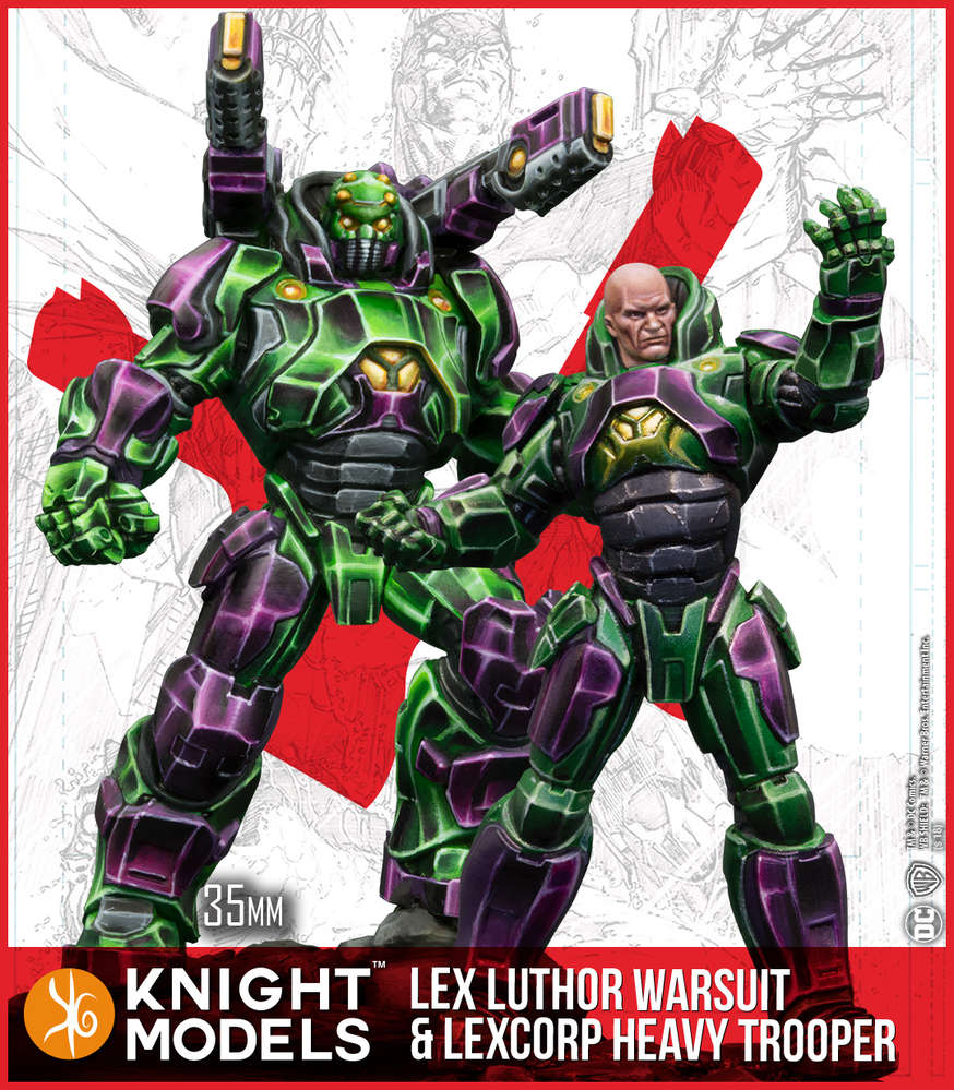 Lex Luthor Armor & Heavy Trooper (2nd Edition)