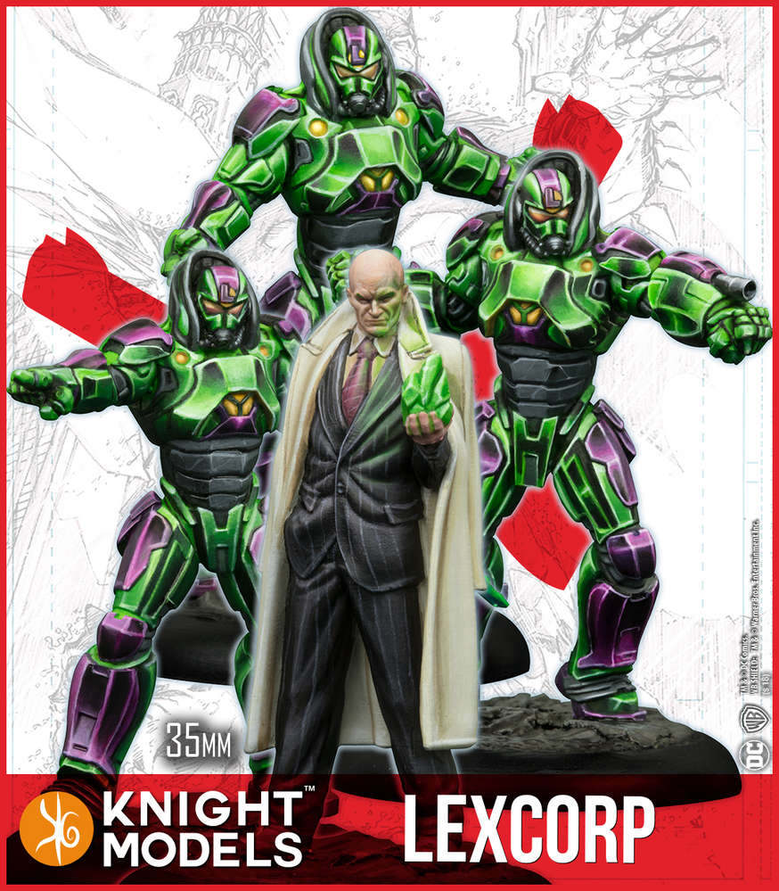 Lex Luthor & Lexcorp Troopers (2nd Edition)