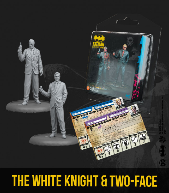 The White Knight & Two-Face (2nd Edition)