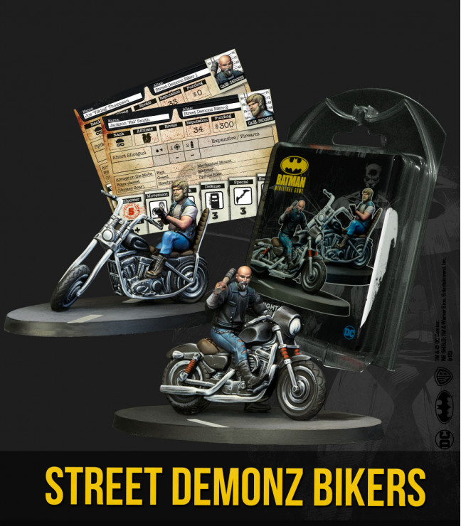 Street Demonz Bikers (2nd Ed)