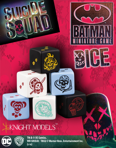 Suicide Squat Dice Set