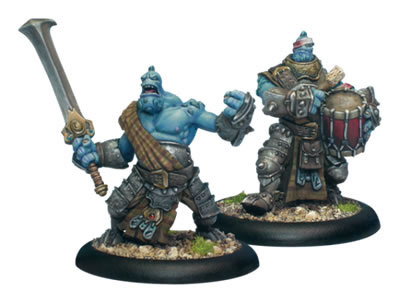 PIP 71052 - Trollkin Fennbalde Officer & Drummer Unit Attachment