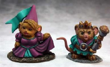 03740 Mousling King & Princess