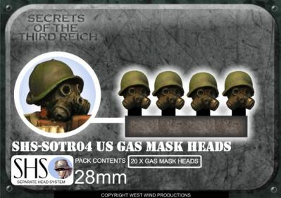 SOTR04 SHS U.S. Gas Mask Heads
