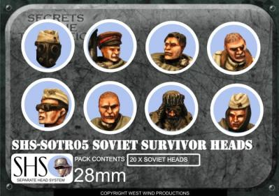 SOTR05 SHS Soviet Survivor Heads