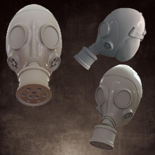 CB1025 Gas Mask - No Helmet