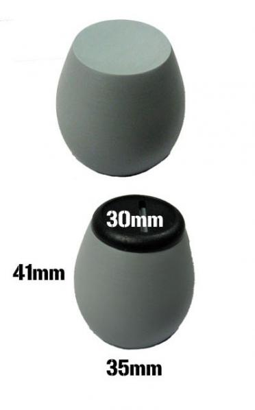 Resin Display Egg Plinth 30mm