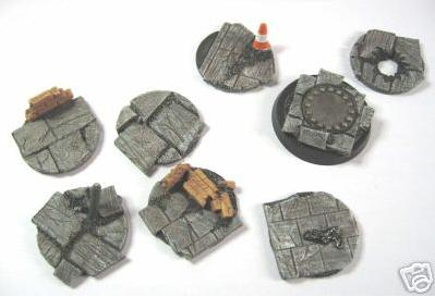Post apocalypse / city ruin 40mm DS topper