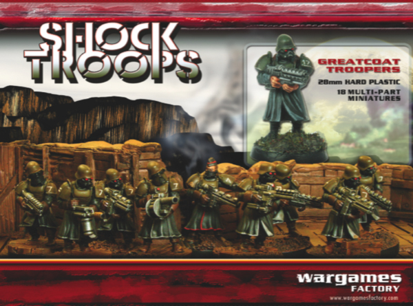 Greatcoat Shock Troops