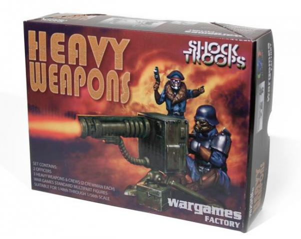 Shock Trooper Heavy Weapons