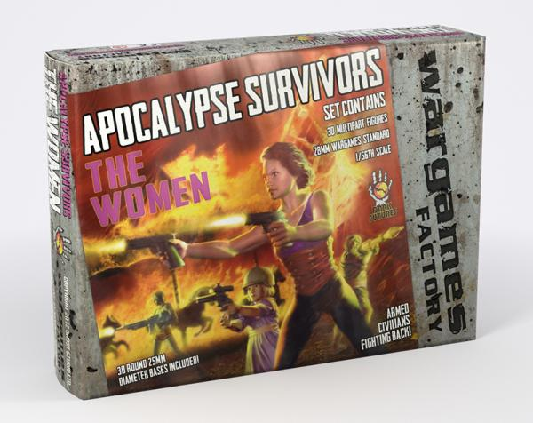 Apocalypse Survivors,The Women