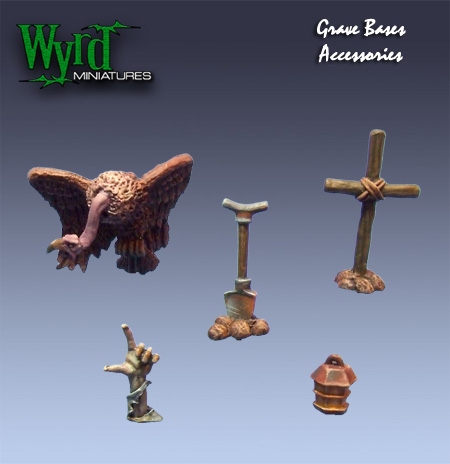 WYR0006 Graveyard bases Accessories