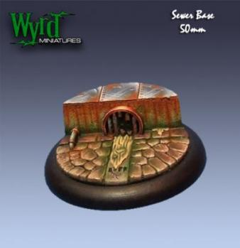 WYR0009 Sewer bases 50mm