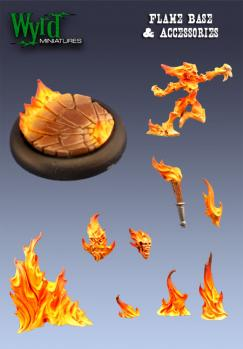 WYR0011 Flame Base &Accessories