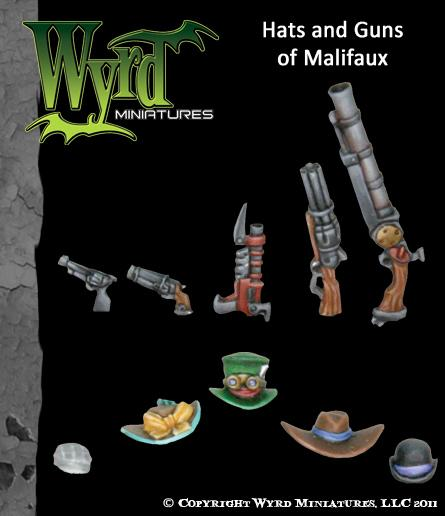 WYR0025 Hats and Guns of Malifaux
