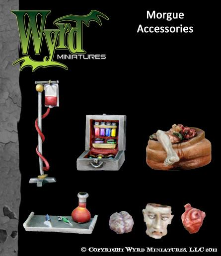 WYR0029 Morgue Accessories