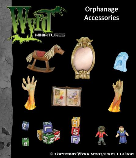 WYR0033 Orphanage Accessories